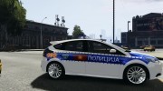 Ford Focus Macedonian Police for GTA 4 miniature 5