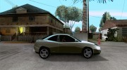 Fiat Coupe - Stock для GTA San Andreas миниатюра 5