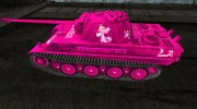 "Шкурка для PzKpfw V Panther ""The Pink Panther"" for World Of Tanks miniature 2"