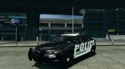 Ford Taurus Police Interceptor 2011 для GTA 4 миниатюра 1