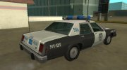 Ford LTD Crown Victoria 1987 Medford Special Police for GTA San Andreas miniature 3