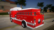 DAF XF 530 Fire Truck for GTA Vice City miniature 5