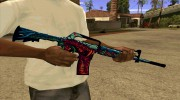 M4a1 Hyper Beast for GTA San Andreas miniature 3