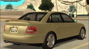 Audi A4 2000 for GTA San Andreas miniature 5