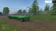 Joskin Wago Trailed 10m Autoloader v 1.0 for Farming Simulator 2015 miniature 1