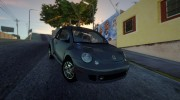 Volkswagen New Beetle 2004 Tunable for GTA San Andreas miniature 1