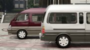 1994 Toyota HiAce Super Custom for GTA 5 miniature 2