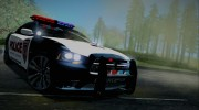 2012 Dodge Charger SRT8 Police interceptor LSPD для GTA San Andreas миниатюра 1