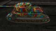 "Шкурка для PzKpfw VI Tiger (P) ""Circus Tiger"" for World Of Tanks miniature 2"