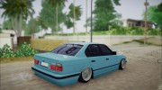 BMW M5 E34 for GTA San Andreas miniature 3
