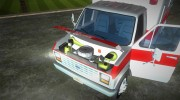 Ford Econoline 1986 Ambulance for GTA Vice City miniature 7