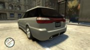 2000 Subaru Legasy Wagon for GTA 4 miniature 3