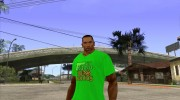 CJ в футболке (Radio Los Santos ) for GTA San Andreas miniature 1