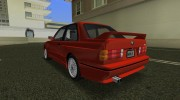 BMW M3 (E30) 1987 for GTA Vice City miniature 2