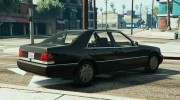 Mercedes-Benz S600 (W140) for GTA 5 miniature 3
