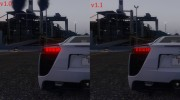 2010 Lexus LFA v1.3 for GTA 5 miniature 4