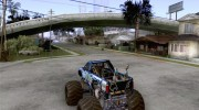 Monster Truck Blue Thunder for GTA San Andreas miniature 3