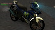 Yamaha Exciter 150cc Movistar Edition for GTA San Andreas miniature 1