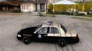 Ford Crown Victoria Florida Police for GTA San Andreas miniature 2