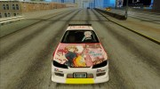 Nissan Silvia S15 - K-on Itasha for GTA San Andreas miniature 8
