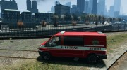 Ford Transit Polish Firetruck for GTA 4 miniature 2