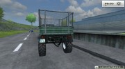 Unimog U 84 406 Series и Trailer v 1.1 Forest for Farming Simulator 2013 miniature 14