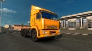 Kamaz 6460 v 2.0 for Euro Truck Simulator 2 miniature 1