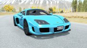 Noble M600 2009 for BeamNG.Drive miniature 1