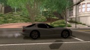 Dodge Viper GTS Tunable для GTA San Andreas миниатюра 4