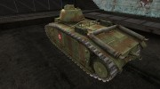 Шкурка для PzKpfw B2 740(f) for World Of Tanks miniature 3