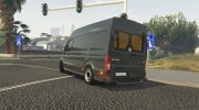 Volkswagen Crafter 2017 L1H2 for GTA 5 miniature 4