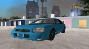 Subaru Impreza 2.0 WRX STI for GTA Vice City miniature 1