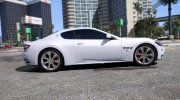 Maserati GranTurismo S for GTA 5 miniature 4