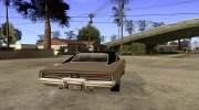 Dodge Charger R/T 1969 for GTA San Andreas miniature 4