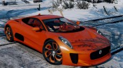 Jaguar C-X75  BETA for GTA 5 miniature 1