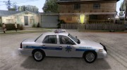 Ford Crown Victoria Arizona Police for GTA San Andreas miniature 5