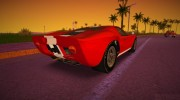 Ford GT40 MkI 1965 for GTA Vice City miniature 5