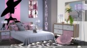 Caletta adult bedroom for Sims 4 miniature 2