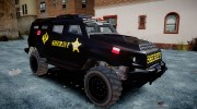 HVY Insurgent Pick-Up SWAT GTA 5 для GTA 4 миниатюра 2