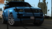 Land-Rover Range Rover Supercharged Series IV  2014 для GTA San Andreas миниатюра 21