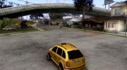 Skoda Fabia Combi Taxi for GTA San Andreas miniature 3