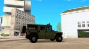Hummer H1 for GTA San Andreas miniature 5