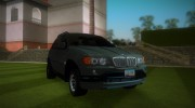 BMW X5 for GTA Vice City miniature 2