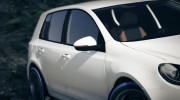 Volkswagen Golf Mk 6 for GTA 5 miniature 3