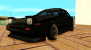 1986 Toyota Trueno AE86 Coupe P Destroyer for GTA San Andreas miniature 1