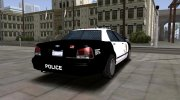 2005 Ford Crown Victoria LAPD (Stanier II Style) for GTA San Andreas miniature 3