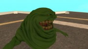 Slimer From Ghostbusters для GTA San Andreas миниатюра 4
