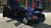 BMW 760i (e65) for GTA 5 miniature 11