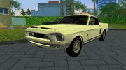 Shelby GT500KR 1968 for GTA Vice City miniature 1