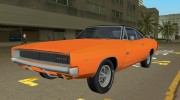 Dodge Charger 1968 RT 426 for GTA Vice City miniature 1